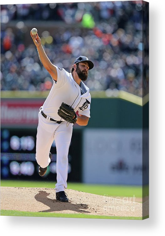 People Acrylic Print featuring the photograph Michael Fulmer by Leon Halip