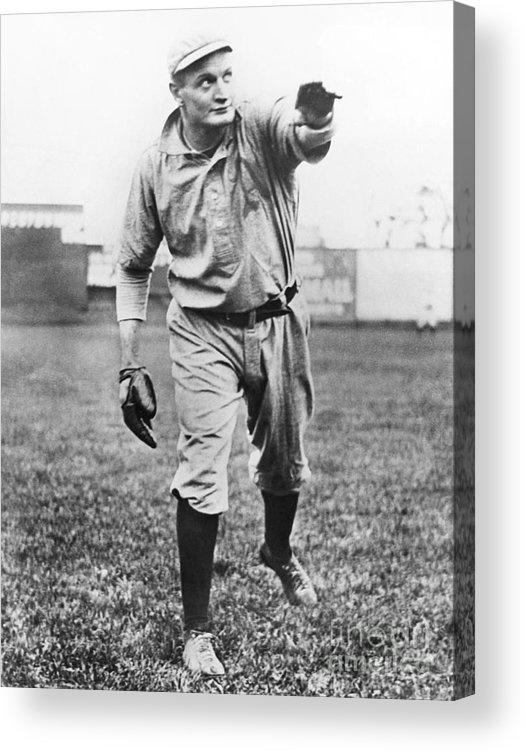 American League Baseball Acrylic Print featuring the photograph Rube Waddell by National Baseball Hall Of Fame Library