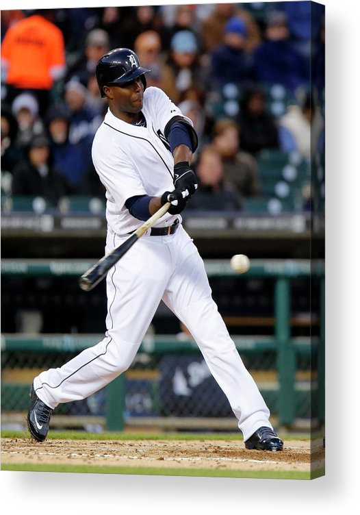 American League Baseball Acrylic Print featuring the photograph Torii Hunter by Duane Burleson