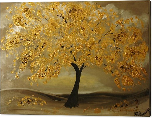 Golden Tree  by Gina Cooper