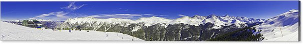 Usa Acrylic Print featuring the photograph Copper Mountain Vista by Fred J Lord