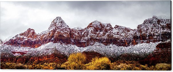 Zion Canyon by April Reppucci