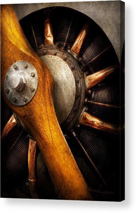 Propeller Acrylic Print featuring the photograph Air - Pilot - You Got Props by Mike Savad