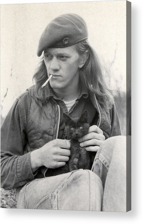 Portrait Acrylic Print featuring the photograph Young Pete by Peter Midtskogen