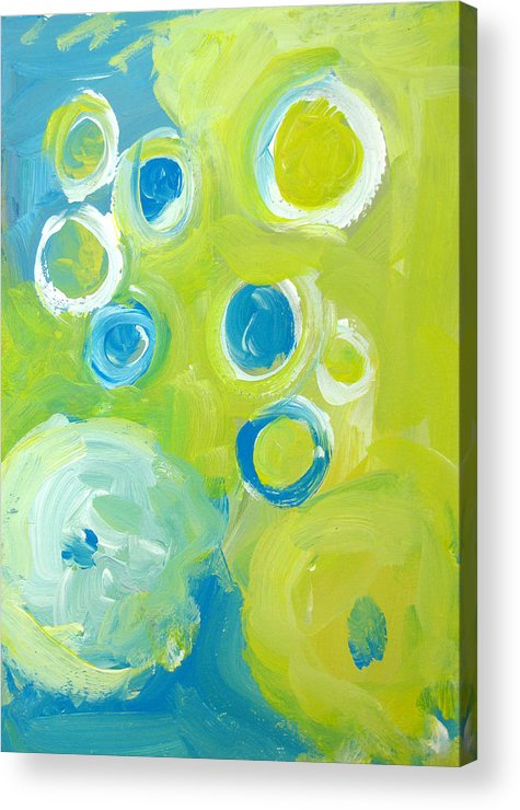 Abstract Art Acrylic Print featuring the painting Abstract IIII by Patricia Awapara