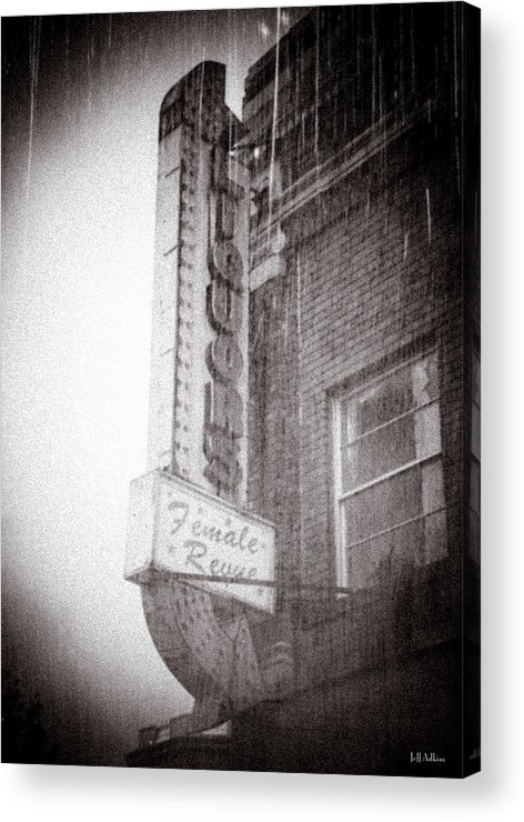 Abandoned Photographs Acrylic Print featuring the photograph Asbury Female Revue by Jeff Adkins