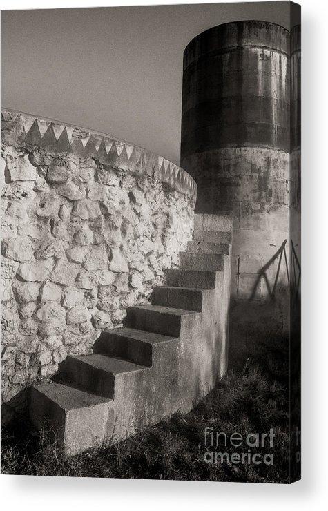 Pila Acrylic Print featuring the photograph Stone Pila by Sherry Davis