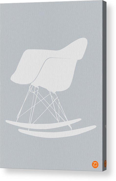 Eames Acrylic Print featuring the photograph Eames Rocking Chair by Naxart Studio