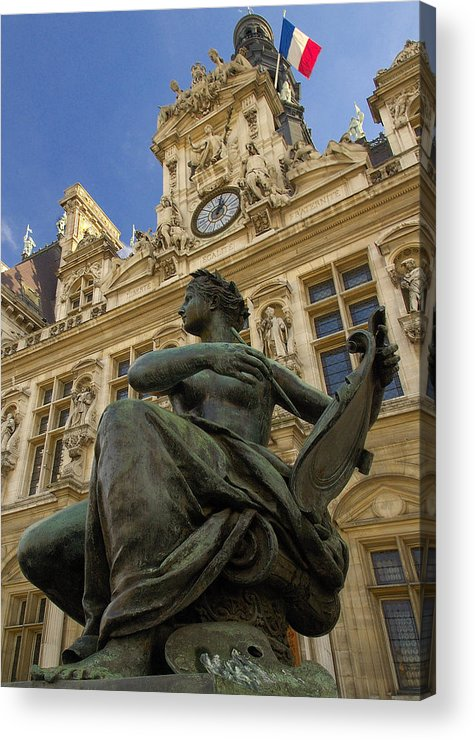 Hotel De Ville Acrylic Print featuring the photograph Hotel De Ville by Mick Burkey