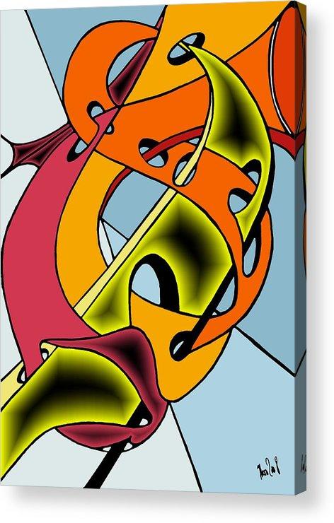 Lifeways Acrylic Print featuring the digital art Lifeways by Helmut Rottler