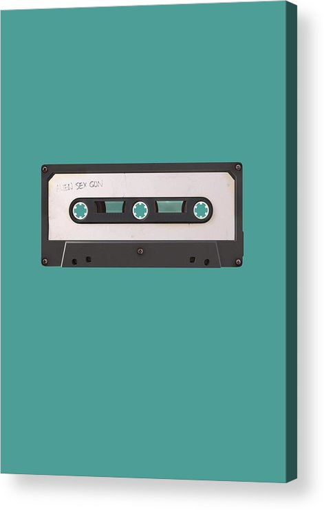 Juxtaposition Acrylic Print featuring the digital art Long Play by Nicholas Ely