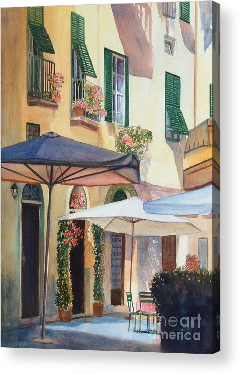 Tuscan Acrylic Print featuring the painting Tuscan Sunlight by Ann Cockerill