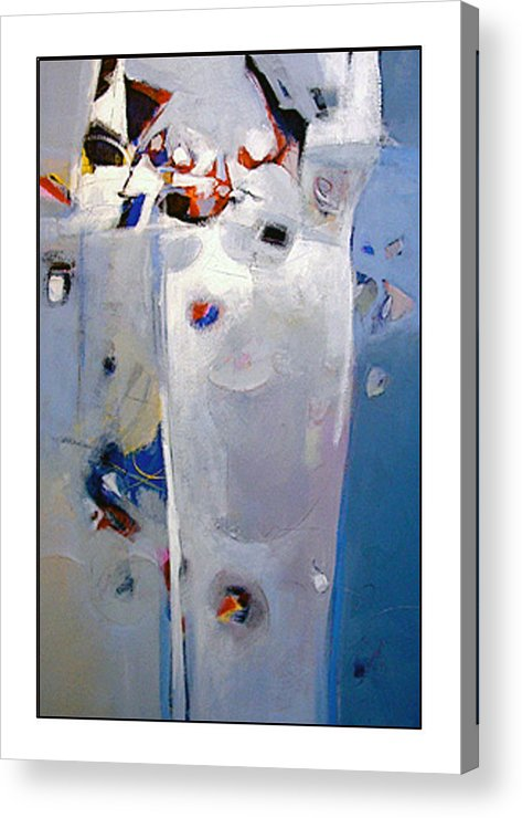 Abstract Acrylic Print featuring the painting Victor by Dale Witherow