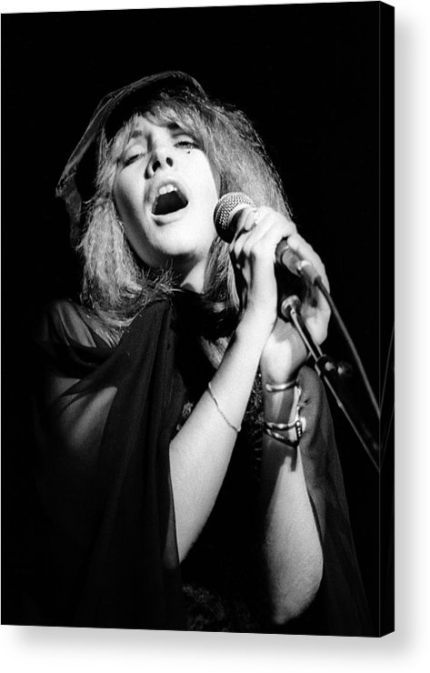 Music Acrylic Print featuring the photograph Fleetwood Mac Live by Ed Perlstein