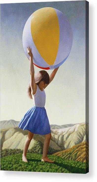Atlas Acrylic Print featuring the painting Atlas by David Palmer