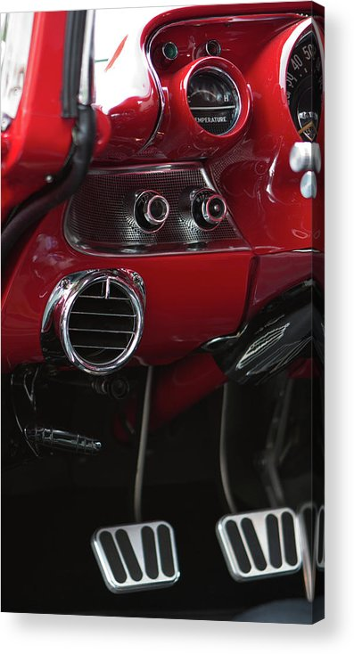 Chevrolet Acrylic Print featuring the photograph Chevrolet Bel-air by Carl Jackson