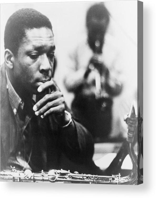 History Acrylic Print featuring the photograph John Coltrane 1926-1967, Master Jazz by Everett