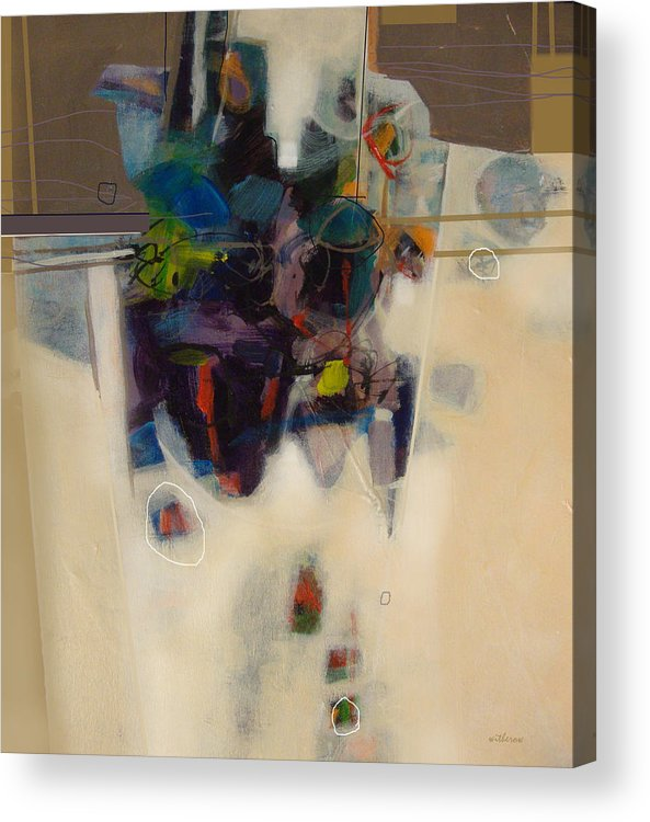 Acrylic Print featuring the mixed media On The Table by Dale Witherow