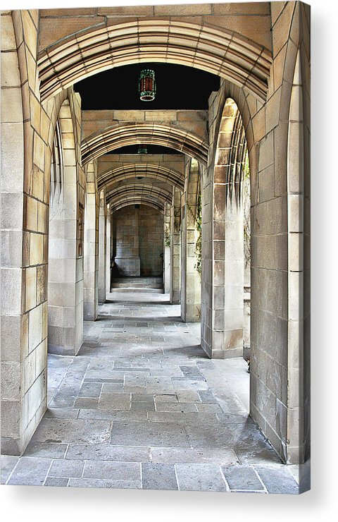 Pcusa Acrylic Print featuring the photograph Fourth Presbyterian Church Chicago by Christine Till