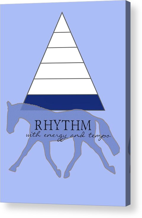 Horse Acrylic Print featuring the photograph Define Rhythm by JAMART Photography
