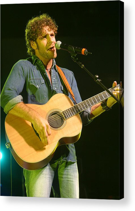Don Olea Acrylic Print featuring the photograph Billy Currington by Don Olea