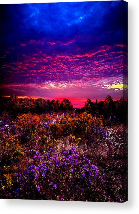 Horizons Acrylic Print featuring the photograph A Moment by Phil Koch