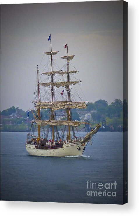 Great Lakes Acrylic Print featuring the photograph Europa by Michael Petrick