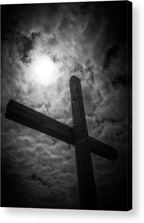 Good Friday Acrylic Print featuring the photograph Good Friday by Caitlyn Grasso