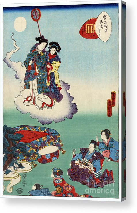 12th Century Acrylic Print featuring the photograph Japan: Tale Of Genji by Granger