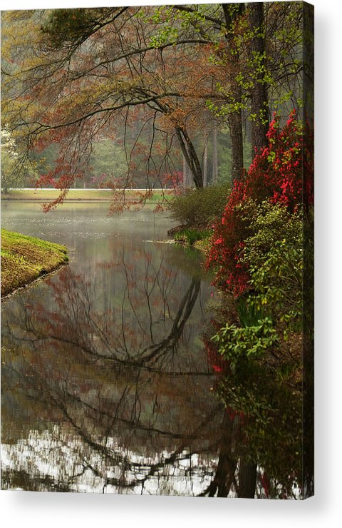 Callaway Acrylic Print featuring the photograph Peace In A Garden by Kathy Clark