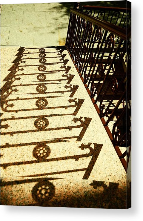 Jersey Acrylic Print featuring the photograph Sunstairs by JAMART Photography