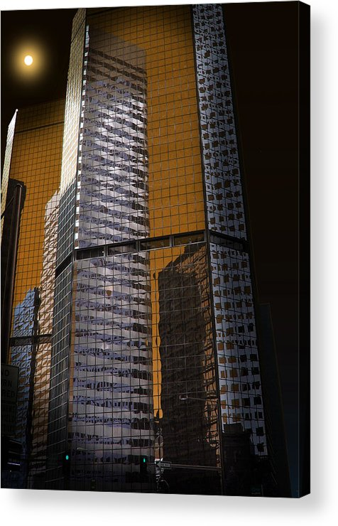Architecture Acrylic Print featuring the photograph 2032 by Peter Holme III