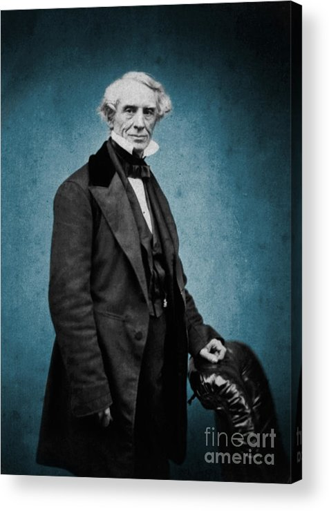 Science Acrylic Print featuring the photograph Samuel Morse, American Inventor by Science Source