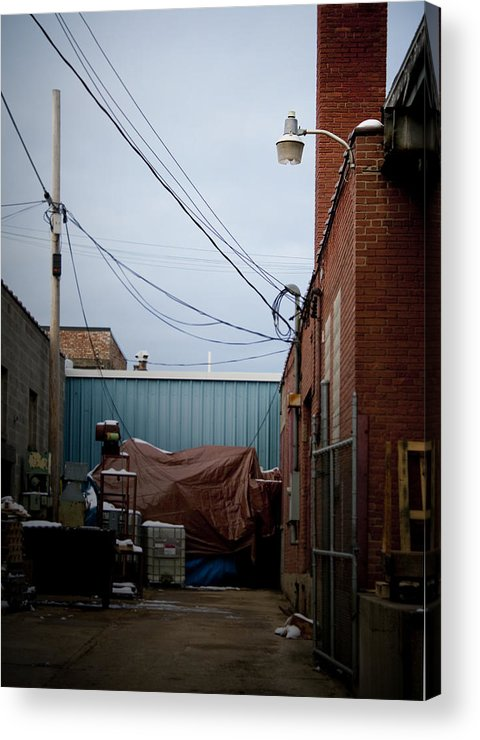 Brick Acrylic Print featuring the photograph Alleyway by Cara Rubley