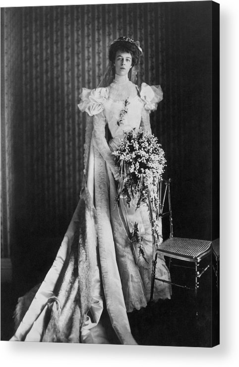 1905 Acrylic Print featuring the photograph Anna Eleanor Roosevelt by Granger