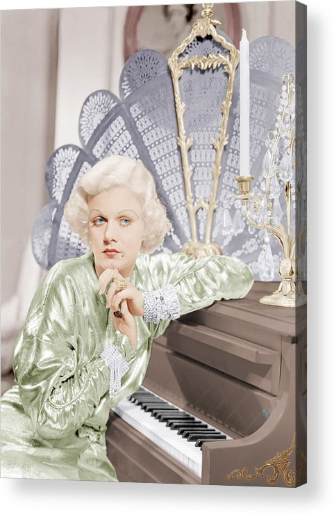1930s Movies Acrylic Print featuring the photograph Bombshell, Jean Harlow, 1933 by Everett