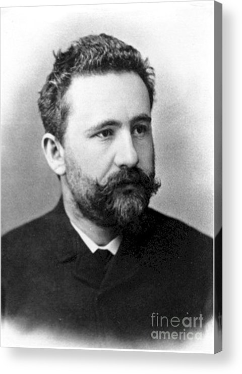 Science Acrylic Print featuring the photograph Emil Kraepelin, German Psychiatrist by Science Source