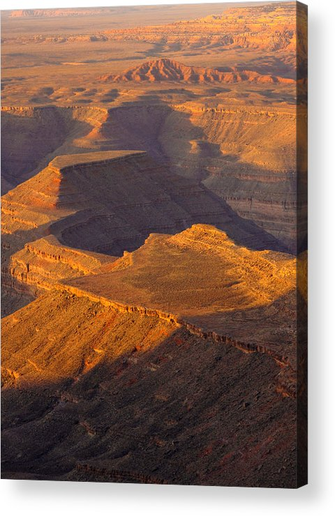 Canon Eos 50d Acrylic Print featuring the photograph Goosenecks San Juan River Utah by Troy Montemayor