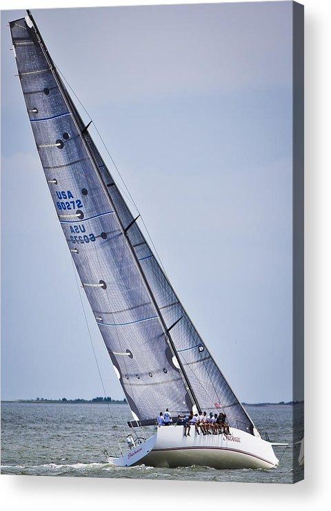 Charleston Acrylic Print featuring the photograph Windward by Donni Mac