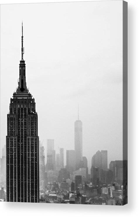 Empire State Acrylic Print featuring the photograph Empire by Martin Newman
