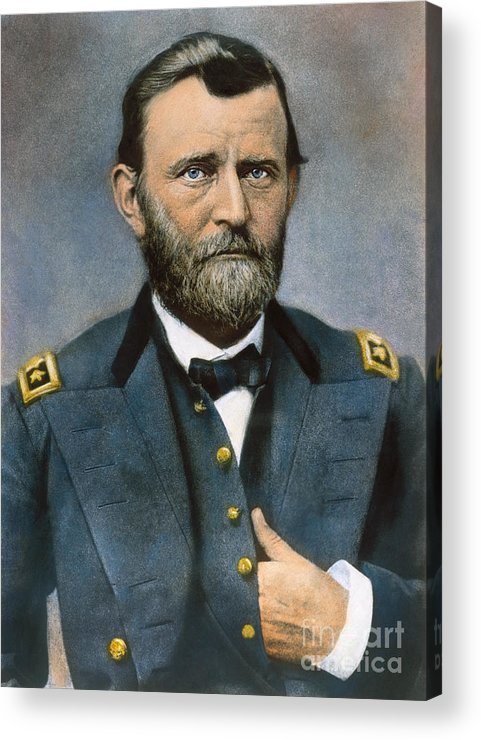 1864 Acrylic Print featuring the photograph Ulysses S. Grant (1822-1885) by Granger