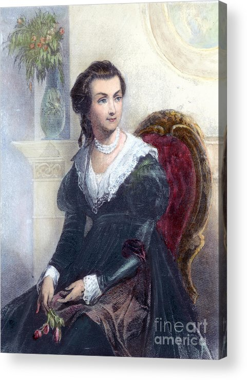 18th Century Acrylic Print featuring the photograph Abigail Adams (1744-1818) by Granger
