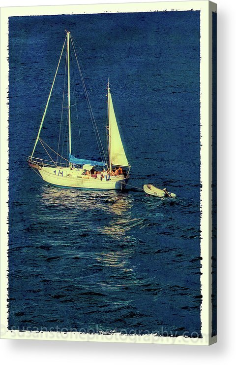 100 To 400 Acrylic Print featuring the photograph A Peaceful Day For Sailing by Susan Stone
