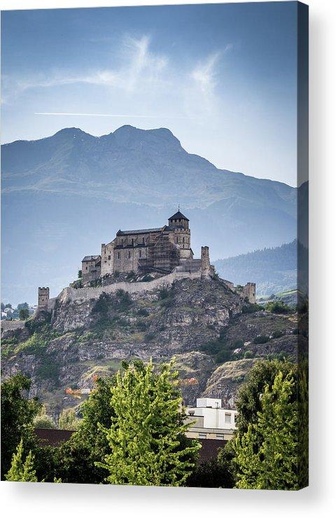 Castle Acrylic Print featuring the photograph Castle Tourbillon by Fabio Gomes Freitas