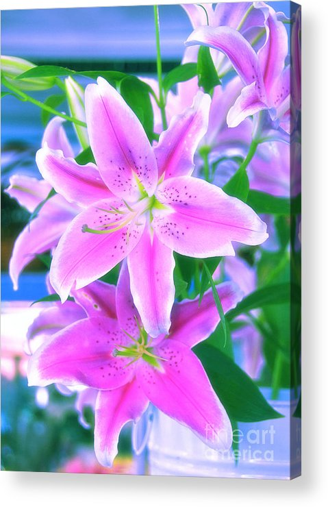 Flowers Acrylic Print featuring the photograph Delightful by Charuhas Images