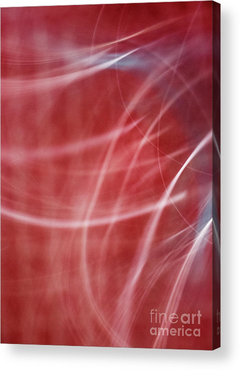 Abstract Acrylic Print featuring the photograph Enlighten by Dorothy Hilde