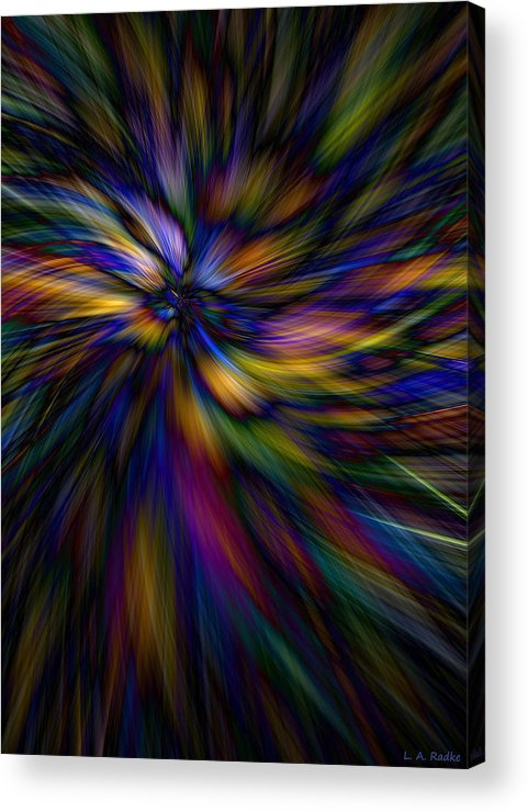 Lauren Radke Acrylic Print featuring the photograph Essence by Lauren Radke