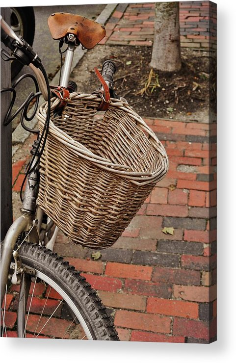 Bike Acrylic Print featuring the photograph Island Transportation 008 by JAMART Photography