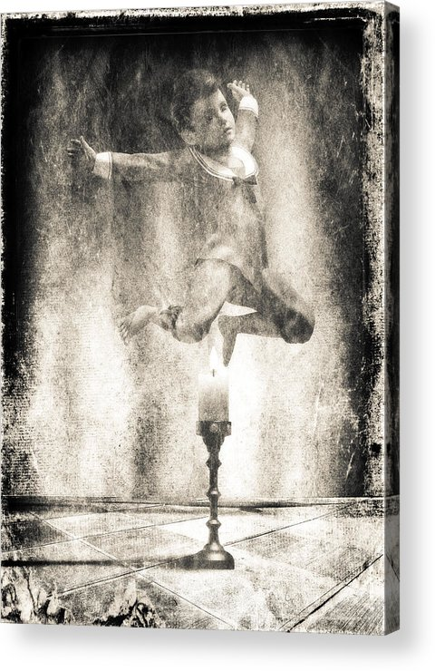 Candle Acrylic Print featuring the photograph Jack Be Quick by Bob Orsillo