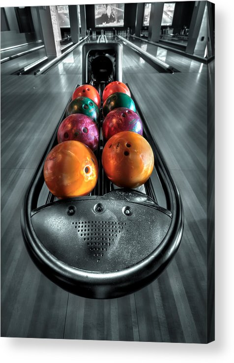 Bowl Acrylic Print featuring the photograph Let The Good Times Roll by Evelina Kremsdorf